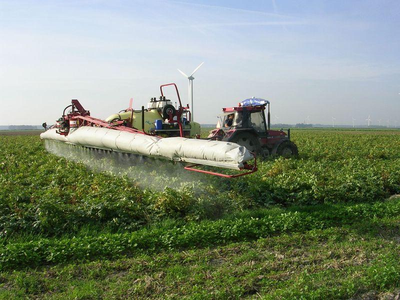 15 september 2006: plaatsspecifieke loofdoding in aardappelen