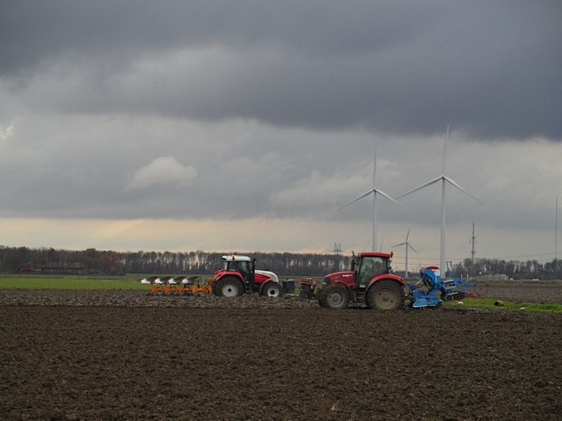 23 november 2013; landwerk klaar