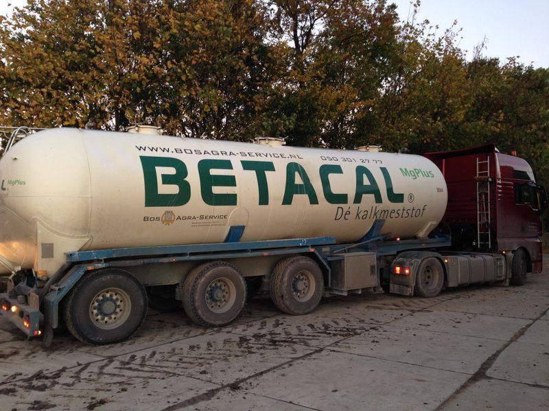 24 oktober 2013; Betacal spuiten