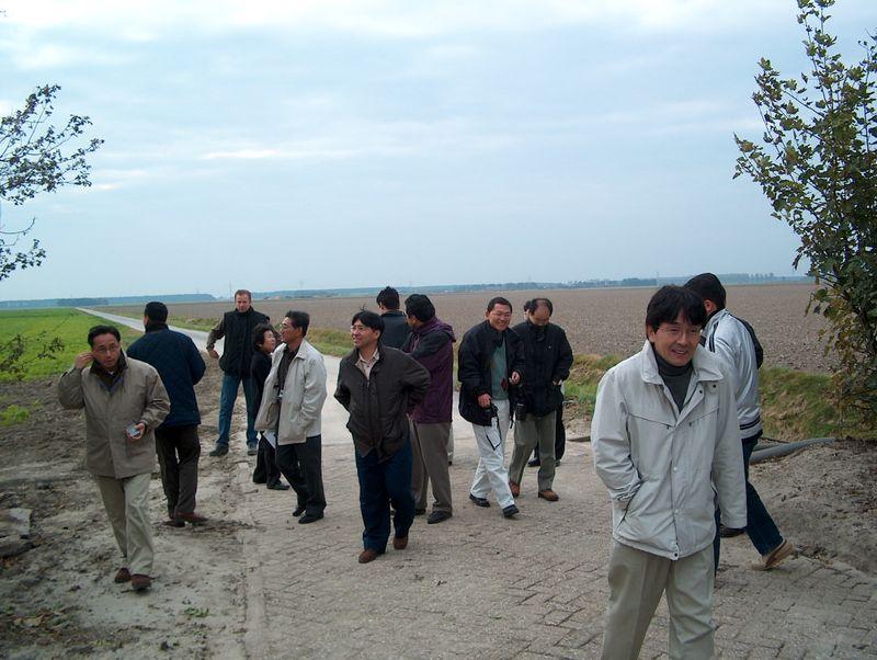 30 oktober 2002; japanners op excursie