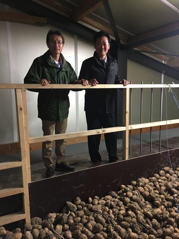 18 november 2017; Japanners op bezoek