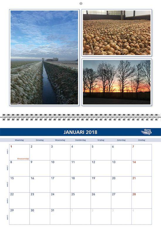 Harrysfarm jaarkalender 2018