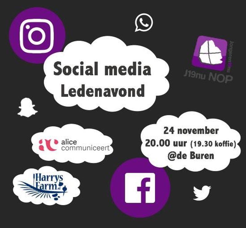 24 november 2017; Harrysfarm op Social media avond J19nu