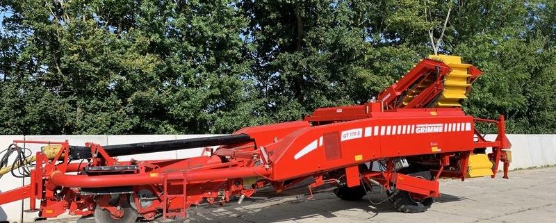 15 augustus 2019; nieuwe aardappelrooier Grimme GT170S