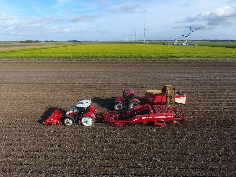 27 oktober 2019; aardappel oogst