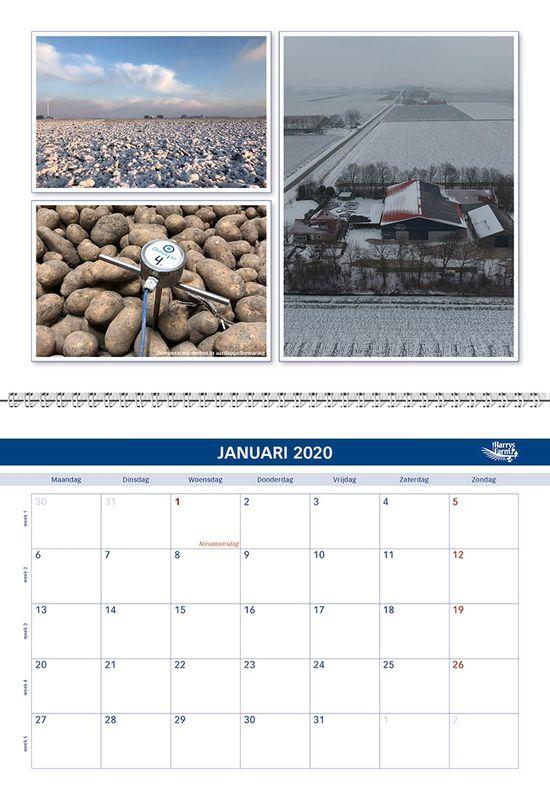 Harrysfarm jaarkalender 2020