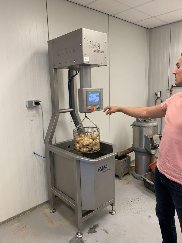 1 september 2020; Bepaling onderwatergewicht aardappelen