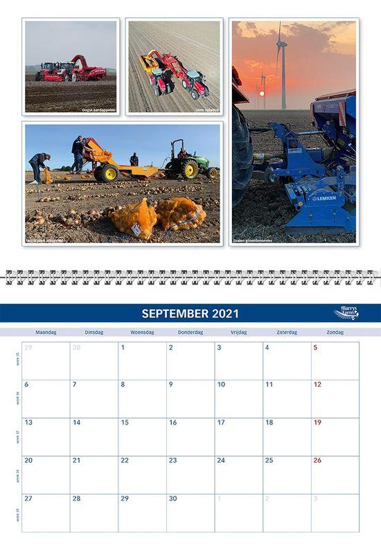 Harrysfarm Kalender 2021