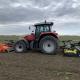8 april 2021; aardappel land voorbewerken met Moreni rotorkopeg en Perfect klepelmaaier