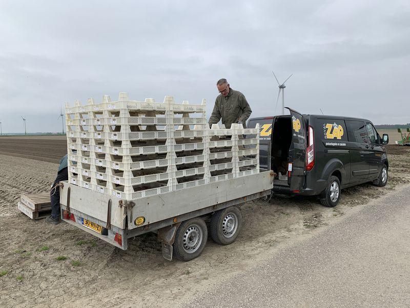 14 mei 2021; Royal Zap Semagri aardappel proefveld poten